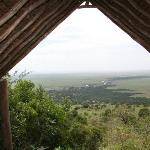 View from the camp