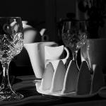 Sample of tableware