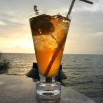 Cocktails at the Sunset Lounge