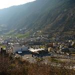 Vista de Andorra do quarto do Hotel Mila