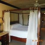 beach facing honeymoon suite