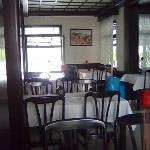 закрытый зал ресторана отеля