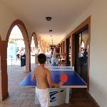 A bit of table tennis