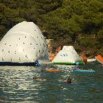 Cooler beach - inflatable climbing walls