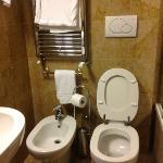tiny bathroom