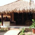 bungalow and veranda