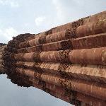 Qutab Minar -74 metres of beautiful carving