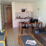 1 bedroom appartment, living area