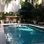 zwembad B&B