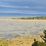 Vue sur la baie depuis la coursive extérieure