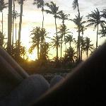 Vista tramonto camera