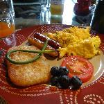 Une partie de notre petit déjeuner