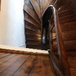 L'escalier de la grenier
