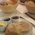 Sweet breakfast at Zeit fuer Brot