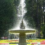 Granite Fountain in Duncan Garden