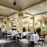 Hotel's restaurant.
