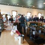Vino tasting room