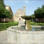 The plaza in Ubeda