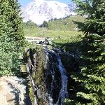 Myrtle Falls & Mt Rainier