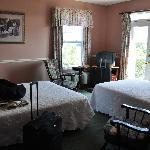 La chambre 2 lits, avec balcon