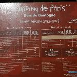 Photo de Camping Indigo Paris Bois de Boulogne