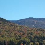 View from Great Glens Trail lodge