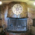 Fire Place in El Rancho Hotel