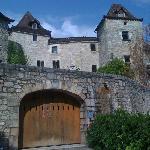 vue extérieure du chateau