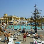 The Szechenyi spa baths