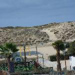Les dunes , vues du Belambra