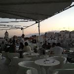 Roof top terrace - sunset