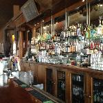 The bar at the Brick