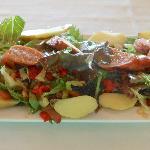 House Made Sausage Salad