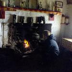 Das innere des Cottages mit schönen Farmhouse