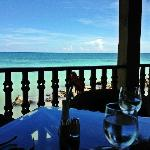 Where you eat breakfast every morning -- The Blue Marlin