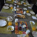 Petit déjeuner bon et copieux