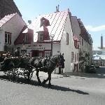The oldest house in Quebec City - now a restaurant.