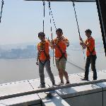 Macau Tower Convention and Entertainment center- where you can bungee ump offf the building!