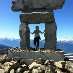 At the summit - Whistler Mountain