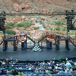 "Stage view for ""Cats"" at Tuacahn in Utah"