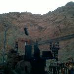 Stage side view at Tuacahn in Ivins (St George) Utah