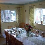 Dining room 01686 413758