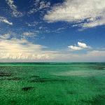 Isla Pasion water from the catamaran