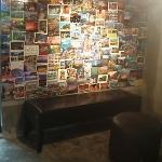 postcard bar :)