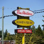 Tim Hortons Parksville, Nanaimo, Vancouver Island
