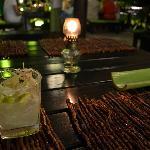 """Lemongrass Margarita im """"Time for Lime"""" am Ende der Bucht des Hotels"""