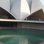 Bahai House of Worship Delhi 'The Lotus Temple'