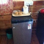 Beach hut: fridge