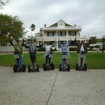 Segways and Galvan House