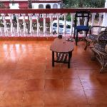 Suite/Bunglow: Balcony: Loved the balcony, nice place to relax, we used to sit here till late ni